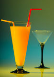 γυαλί ποτών Στοκ Εικόνες