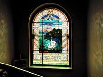 γυαλί που λεκιάζουν από την πόλη του Λοντζ Στοκ Φωτογραφίες
