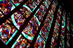 γυαλί που λεκιάζουν Στοκ Εικόνες