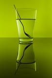 γυαλί πράσινο Στοκ Φωτογραφία