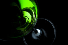 γυαλί πράσινο martini ποτών Στοκ Εικόνες