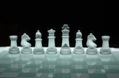 γυαλί σκακιού στοκ εικόνες