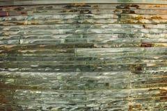 Γυαλί σύστασης μωσαϊκό Η σύνθεση του γυαλιού στοκ φωτογραφία με δικαίωμα ελεύθερης χρήσης