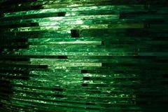 Γυαλί σύστασης μωσαϊκό Η σύνθεση του γυαλιού διανυσματική απεικόνιση
