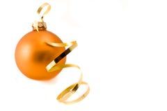 γυαλί Χριστουγέννων σφα&iot Στοκ φωτογραφίες με δικαίωμα ελεύθερης χρήσης