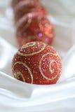 γυαλί Χριστουγέννων σφα&iot Στοκ εικόνες με δικαίωμα ελεύθερης χρήσης