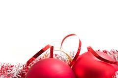γυαλί Χριστουγέννων σφα&iot Στοκ Φωτογραφίες
