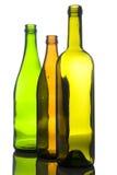 γυαλί χρώματος μπουκαλ&iot Στοκ Εικόνα