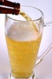 γυαλί 5 μπύρας Στοκ Φωτογραφίες