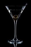 γυαλί martini Στοκ Φωτογραφίες