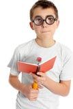 γυαλιά αγοριών ανόητα Στοκ Φωτογραφία