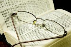 Γυαλιά ανάγνωσης Στοκ εικόνες με δικαίωμα ελεύθερης χρήσης