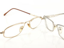 γυαλιά δύο Στοκ Εικόνες