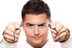 γυαλιά επιχειρηματιών πο& Στοκ φωτογραφίες με δικαίωμα ελεύθερης χρήσης