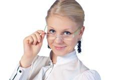 γυαλιά επιχειρηματιών πο& Στοκ εικόνα με δικαίωμα ελεύθερης χρήσης