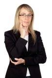 γυαλιά επιχειρηματιών σκ Στοκ φωτογραφίες με δικαίωμα ελεύθερης χρήσης