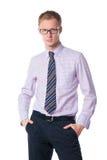 γυαλιά επιχειρηματιών όμο Στοκ Φωτογραφίες