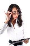 γυαλιά επιχειρηματιών Στοκ φωτογραφία με δικαίωμα ελεύθερης χρήσης