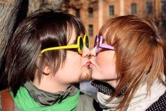 γυαλιά ζευγών Στοκ εικόνες με δικαίωμα ελεύθερης χρήσης