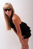 γυαλιά ηλίου κοριτσιών Στοκ Φωτογραφίες
