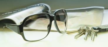 γυαλιά ηλίου πλήκτρων Στοκ φωτογραφία με δικαίωμα ελεύθερης χρήσης