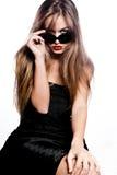 γυαλιά ηλίου πορτρέτου στοκ φωτογραφίες με δικαίωμα ελεύθερης χρήσης