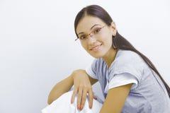 γυαλιά κοριτσιών Στοκ εικόνες με δικαίωμα ελεύθερης χρήσης