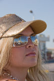 γυαλιά κοριτσιών Στοκ Εικόνες