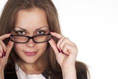 γυαλιά κοριτσιών Στοκ Φωτογραφία