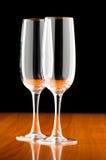 Γυαλιά κρασιού Στοκ Φωτογραφίες