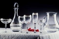 γυαλιά κρυστάλλου Στοκ Φωτογραφία