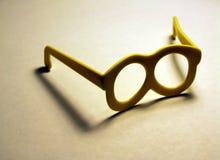 γυαλιά λίγα κίτρινα Στοκ Εικόνες