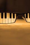 γυαλιά μπλε Στοκ Φωτογραφία