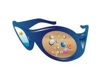 γυαλιά παραλιών ελεύθερη απεικόνιση δικαιώματος