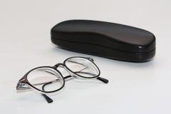 γυαλιά περίπτωσης Στοκ εικόνες με δικαίωμα ελεύθερης χρήσης