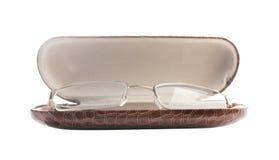 γυαλιά περίπτωσης Στοκ φωτογραφία με δικαίωμα ελεύθερης χρήσης