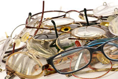 γυαλιά πολλά Στοκ φωτογραφία με δικαίωμα ελεύθερης χρήσης