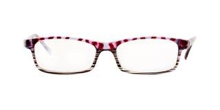 γυαλιά που απομονώνονται Στοκ εικόνα με δικαίωμα ελεύθερης χρήσης