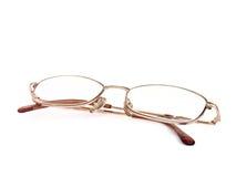 γυαλιά που απομονώνοντα& Στοκ Φωτογραφίες