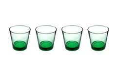 γυαλιά πράσινα Στοκ Φωτογραφίες
