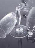 γυαλιά σαμπάνιας Στοκ Φωτογραφία