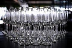 γυαλιά σαμπάνιας Στοκ φωτογραφίες με δικαίωμα ελεύθερης χρήσης