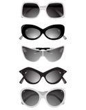 γυαλιά συλλογής ηλιακ Στοκ Εικόνα