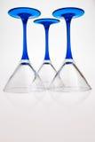 γυαλιά τρία ποτών στοκ εικόνα με δικαίωμα ελεύθερης χρήσης