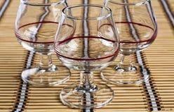 γυαλιά τρία στοκ εικόνες