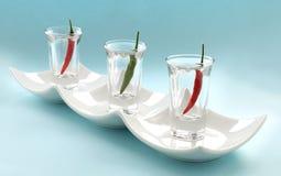 γυαλιά τσίλι Στοκ Φωτογραφίες