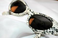 Γυαλιά τυπωμένων υλών φιδιών Στοκ φωτογραφίες με δικαίωμα ελεύθερης χρήσης