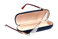 γυαλιά χρώματος περίπτωσης χρυσά αυτοί Στοκ εικόνες με δικαίωμα ελεύθερης χρήσης