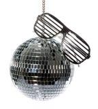 γυαλιά disco σφαιρών Στοκ Φωτογραφίες