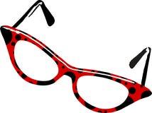 γυαλιά ladybug απεικόνιση αποθεμάτων